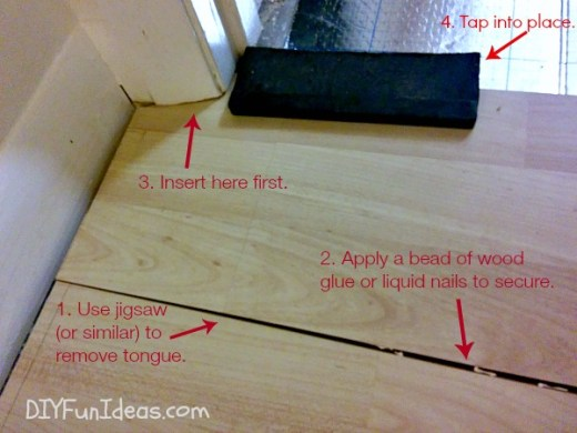 HOW TO INSTALL BEAUTIFUL LAMINATE FLOORS IN ONE AFTERNOON   Do It     HOW TO INSTALL LAMINATE FLOORS