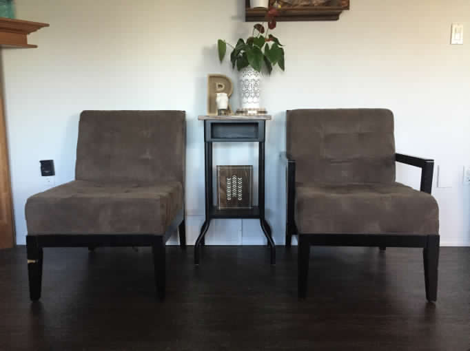 (Before) Twinning Chairs Makeover - by HashtagBlessed
