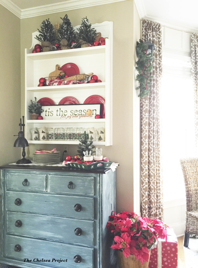 TV Armoire Makeover to Kitchen Storage - by The Chelsea Project