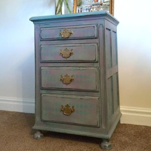 Chalk Paint Harlequin Nightstand