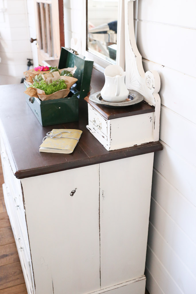 Shabby and Chic Dresser Makeover - by This Mamas Dance