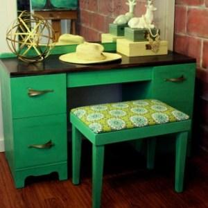 Emerald Green Vanity