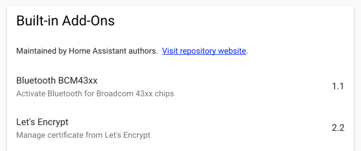 Hassio Let's Encrypt