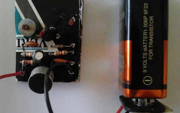 Home Made Radio Microphone
