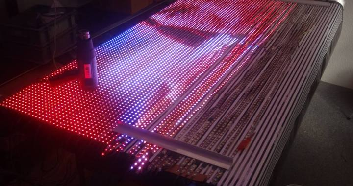 flexible LED Display XXL WS2811