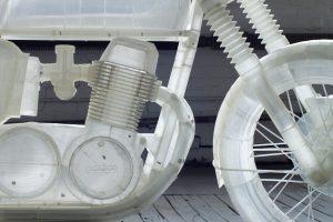 3D Printed 1972 Honda CB500 MotorCycle