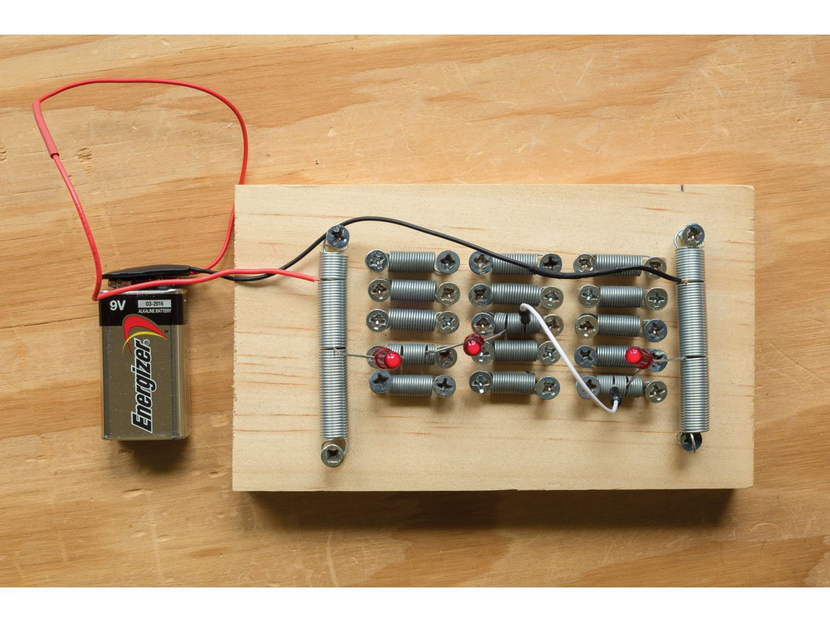 Build A Cheap And Easy No Solder Prototyping Board Diygadgets Circuit To