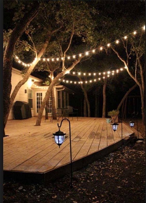 28 garden lighting ideas to illuminate