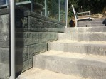 Custom cut stair panel