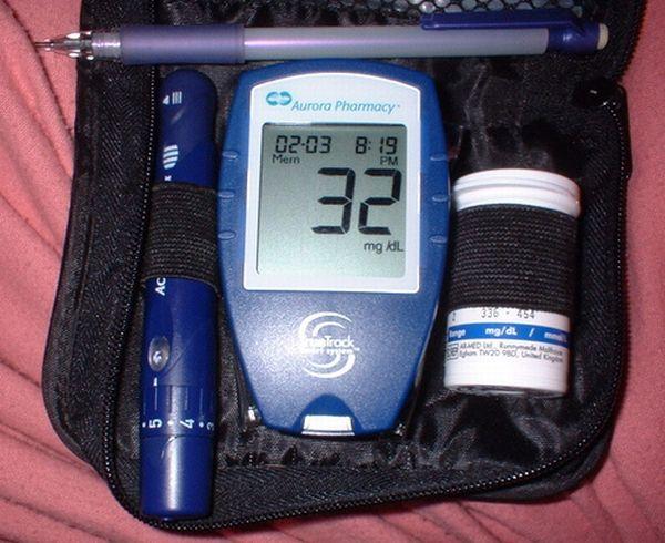 Hypoglycemia test
