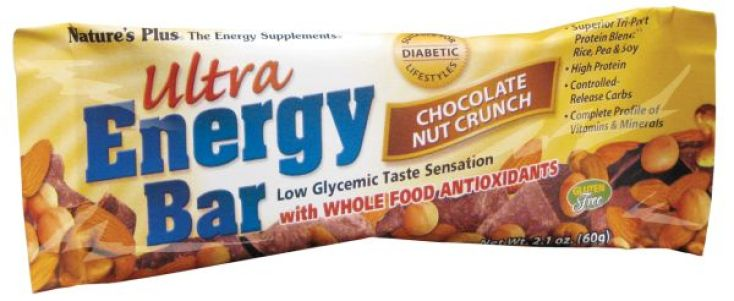 Nature's Plus Ultra Energy Bar - Chocolate Nut Crunch