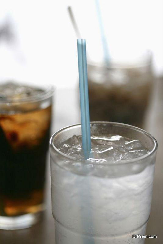 Ingredients of soda drinks