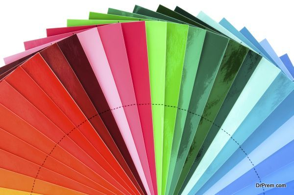 Color Swatch Fan Cutout