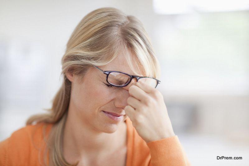 Severe eye pain