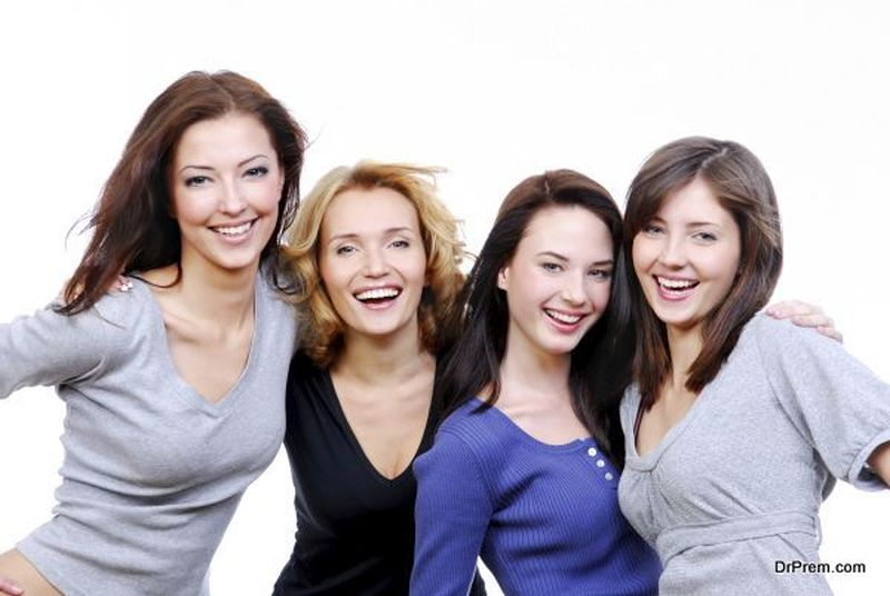 laughing women