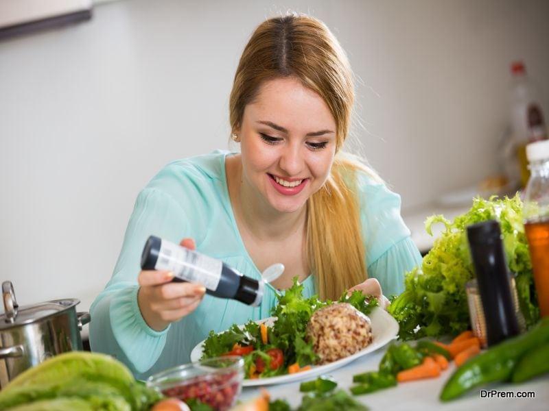 advice while choosing salad dressings