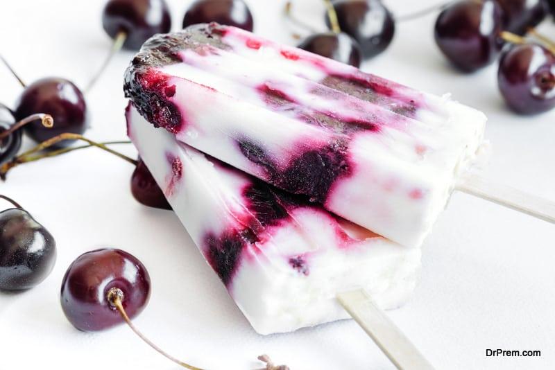 Yogurt-popsicles