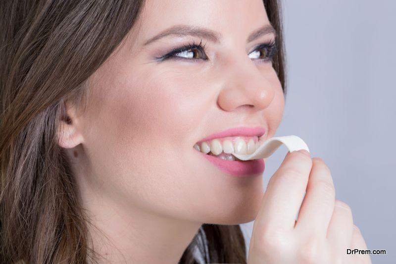 Always keep gum near you