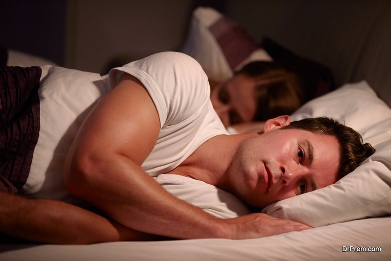 Irregular sleeping pattern