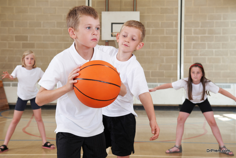 Engage them in outdoor sports