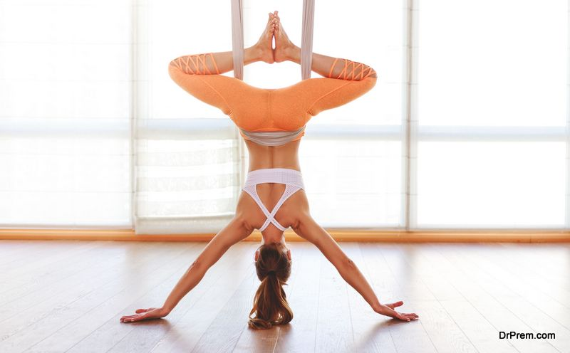 Inversion poses