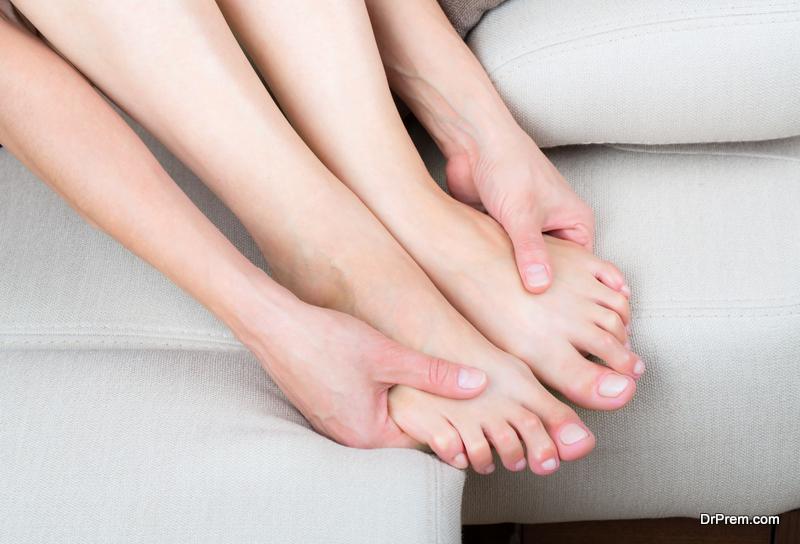 massage your heels