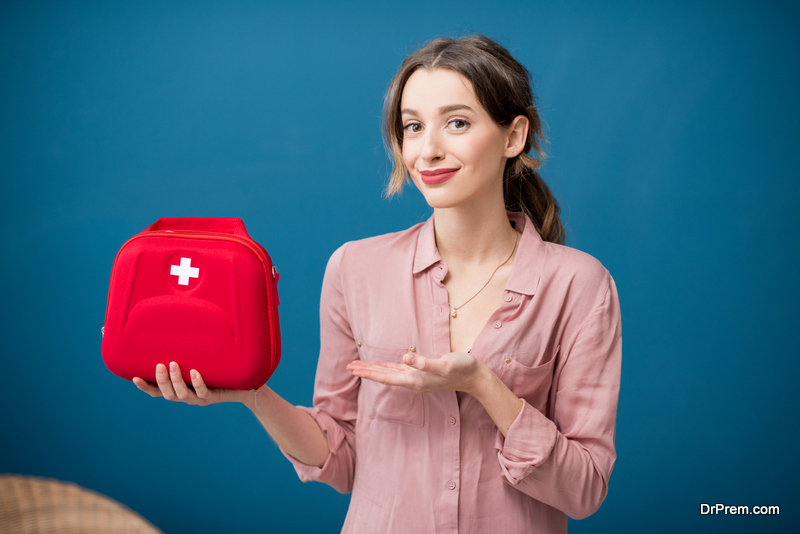 Keep your first aid kit ready