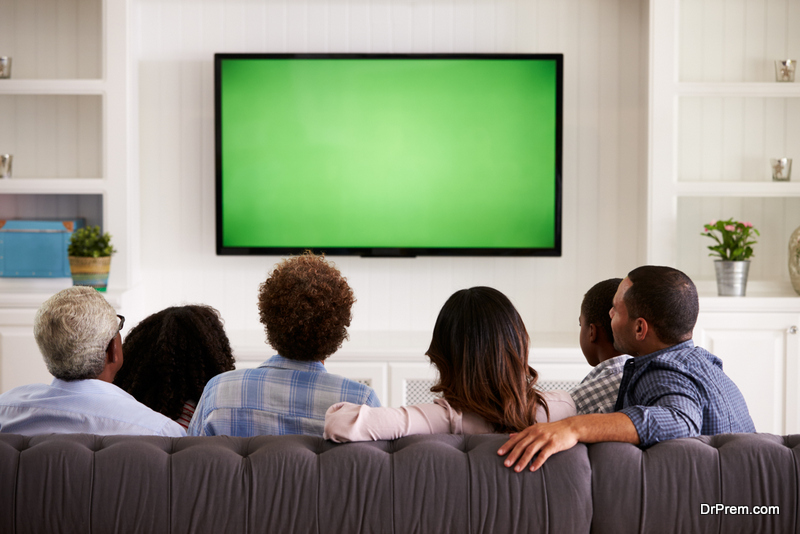 family Watch Television