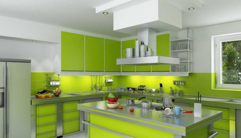 Refresh Your Mind with Beautiful Green Kitchen Ideas - DIY Home Art