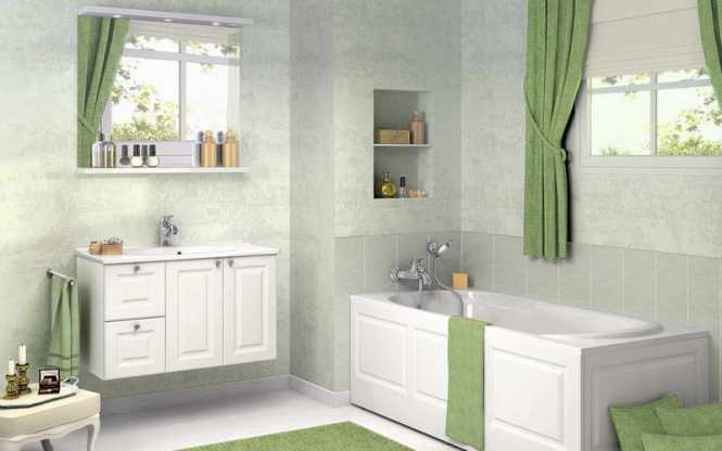 Color Schemes For Small Bathrooms Without Windows - Bathroom ...