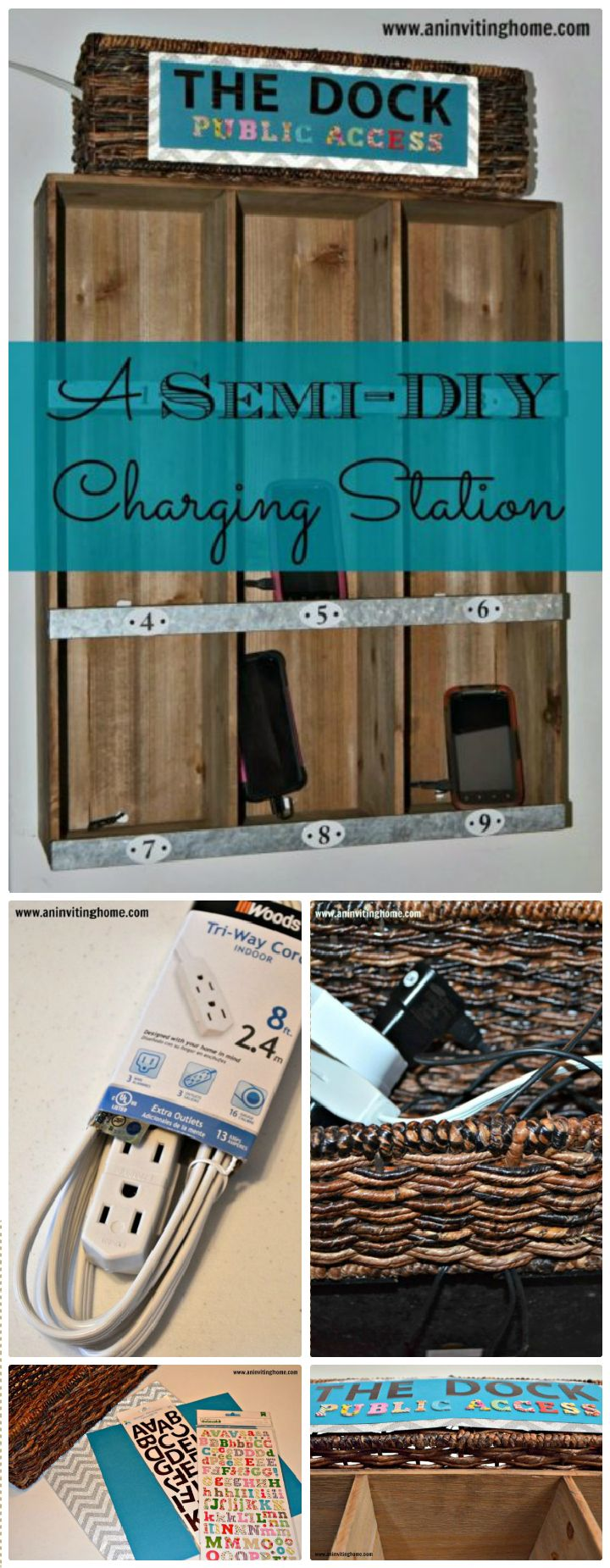 25 DIY Charging Station Ideas Cheap And Easy DIY Home Decor