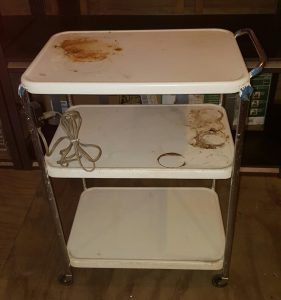 DIY upcycled cart