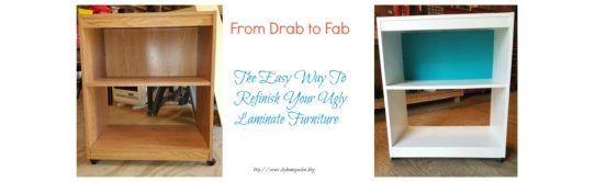 refinishing laminate furniture