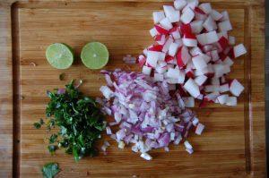 cinco de mayo vegetables preparation