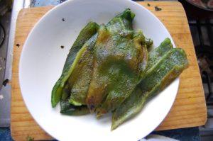 pepper skinning