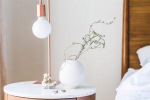copper lamp interior design