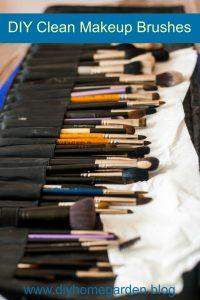 clean makeup brushes healthy skin