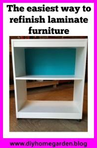 refinish laminate furniture