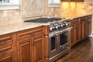appliance cabinets contemporary counter