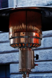 outdoor entertaining patio heater
