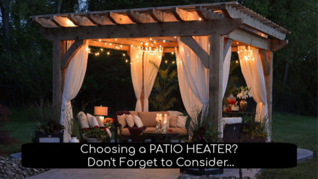 choosing a patio heater