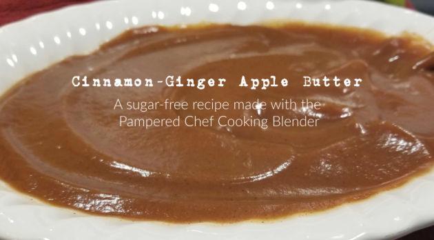 cinnamon ginger apple butter