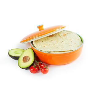 orange tortilla warmer