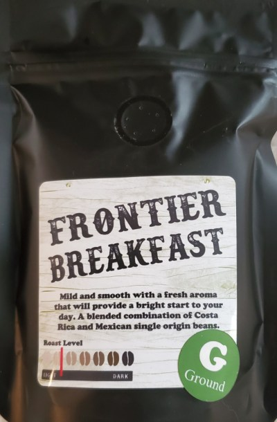 frontier blend coffee