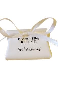 pillow box favor