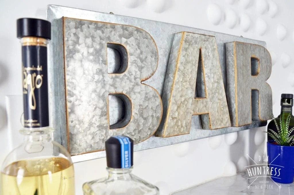 DIY Metal Bar Sign No Welding Necessary DIY Huntress