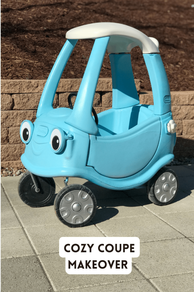 Little Tikes Cozy Coupe Makeover