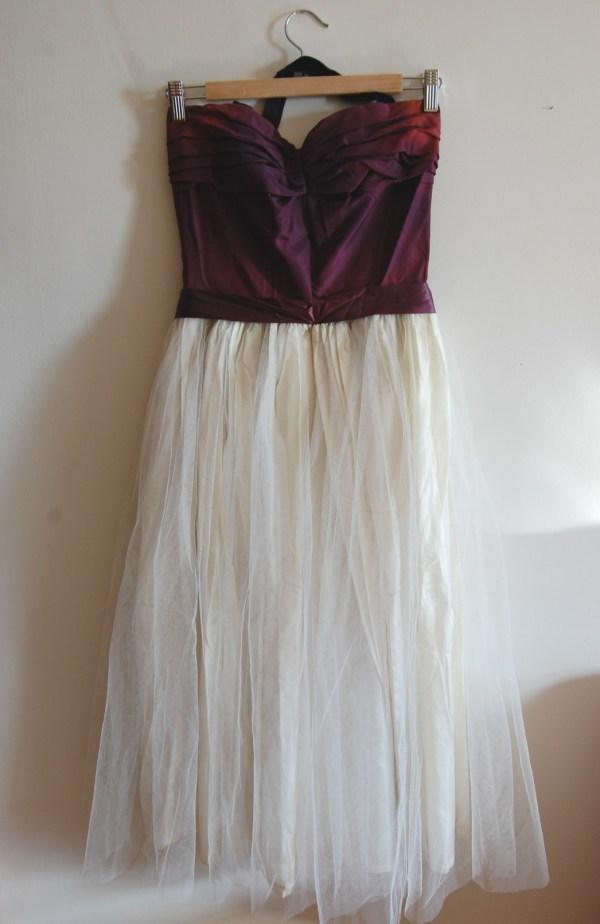 Wedding Dress Before