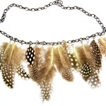 DIY Feather Necklace