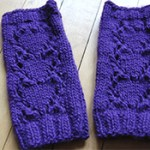 Knit Heart Handwarmers Pattern
